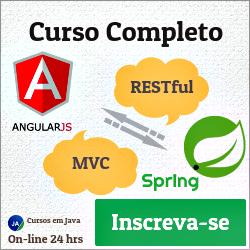 Curso AngularJS e Spring RESTful