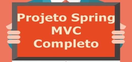 Projeto completo em Spring MVC