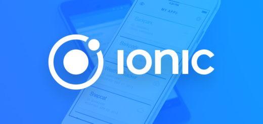 O que é o IONIC para web apps