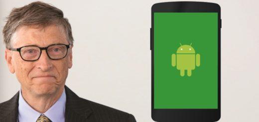 Bill Gates prefere Android