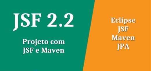Projeto JSF com Maven