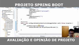 Spring Boot - Avaliação de Projeto Java Web