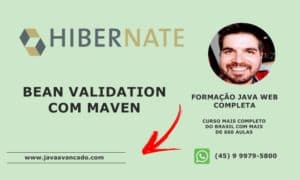 Curso de JSF - Bean Validation com Maven