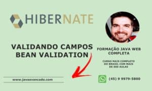 Curso de JSF – Validando com Bean Validation