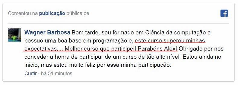 Aluno Wagner Barbosa