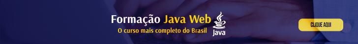 Formação JAVA WEB Completo