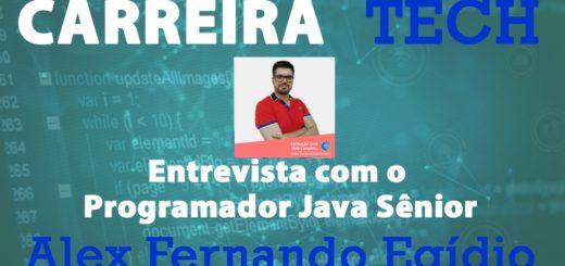 Live e entrevista sobre Full-Stack Java Sênior